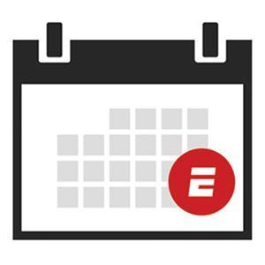 ESPN Daily Calendar